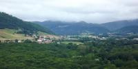 Vistas del valle de Ultzama